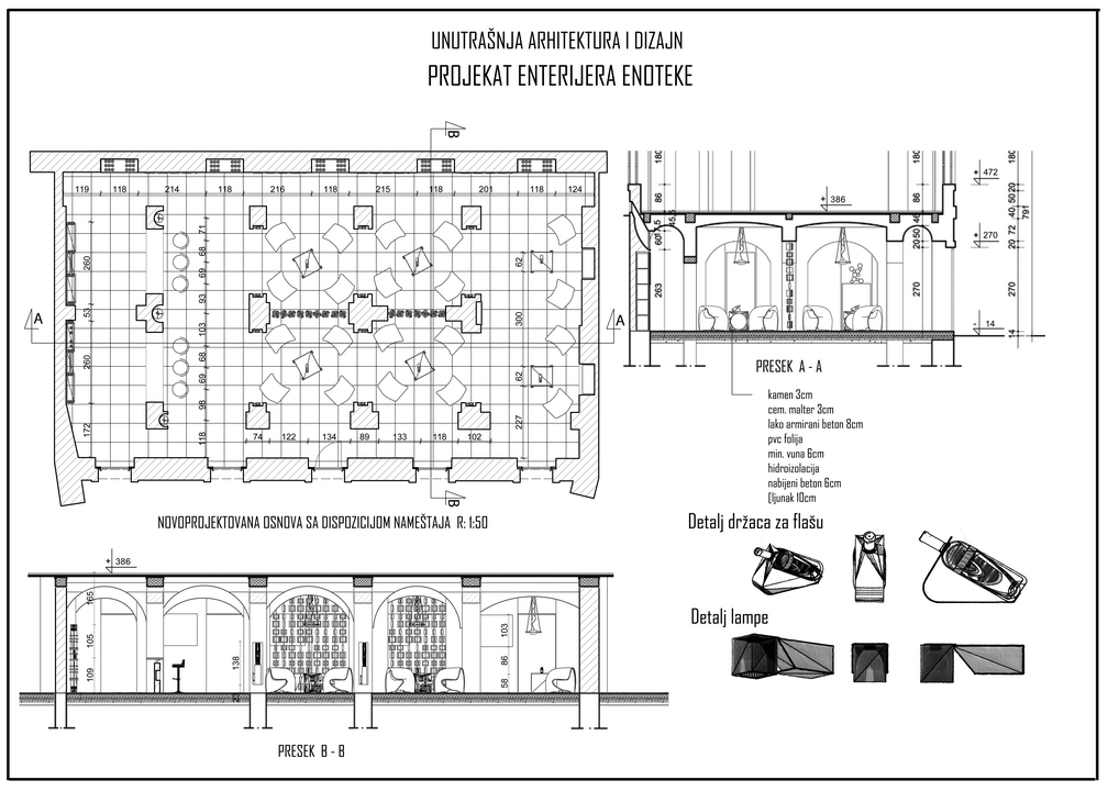 FLOOR PLAN AND SECTION