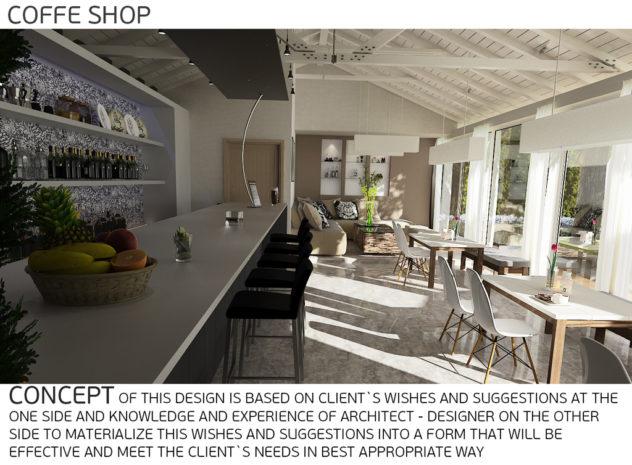 Interiors caffe shop details 3