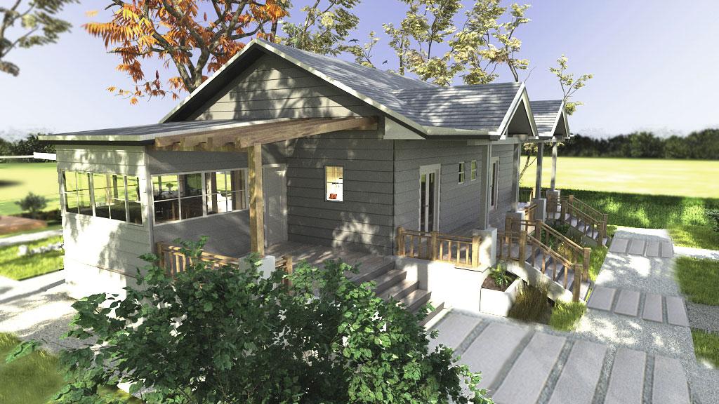 Pejzazna arhitektura privatna kuca