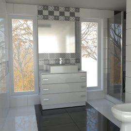 dizajn kupatila patchwork