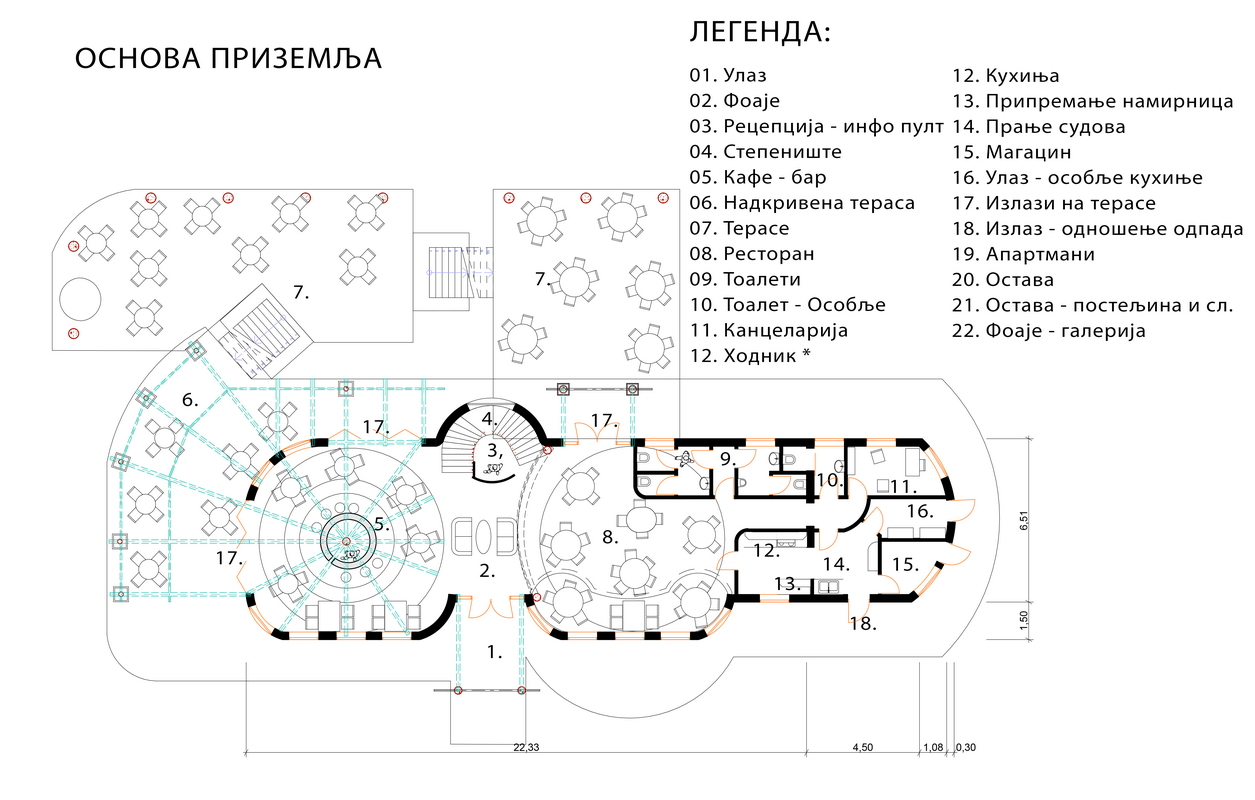 1-st FLOOR PLAN
