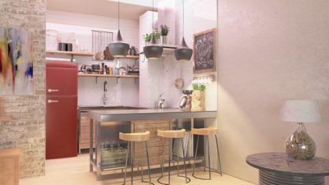 Kuhinja industrijski dizajn 2