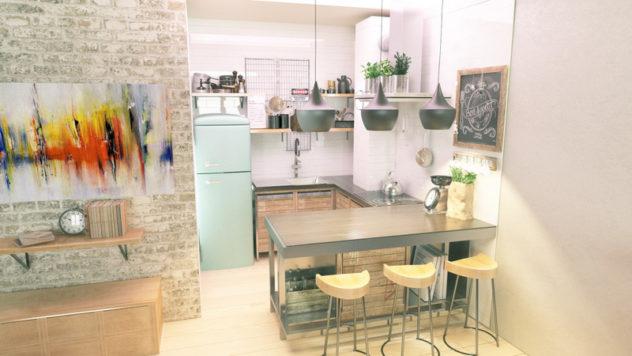 Kuhinja industrijski dizajn 1