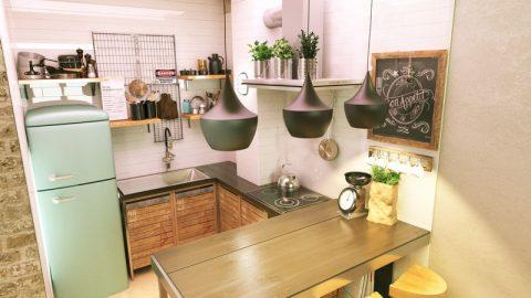 Kuhinja industrijski dizajn 3