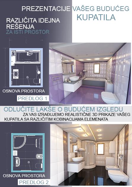 Dizajn detalja kupatila